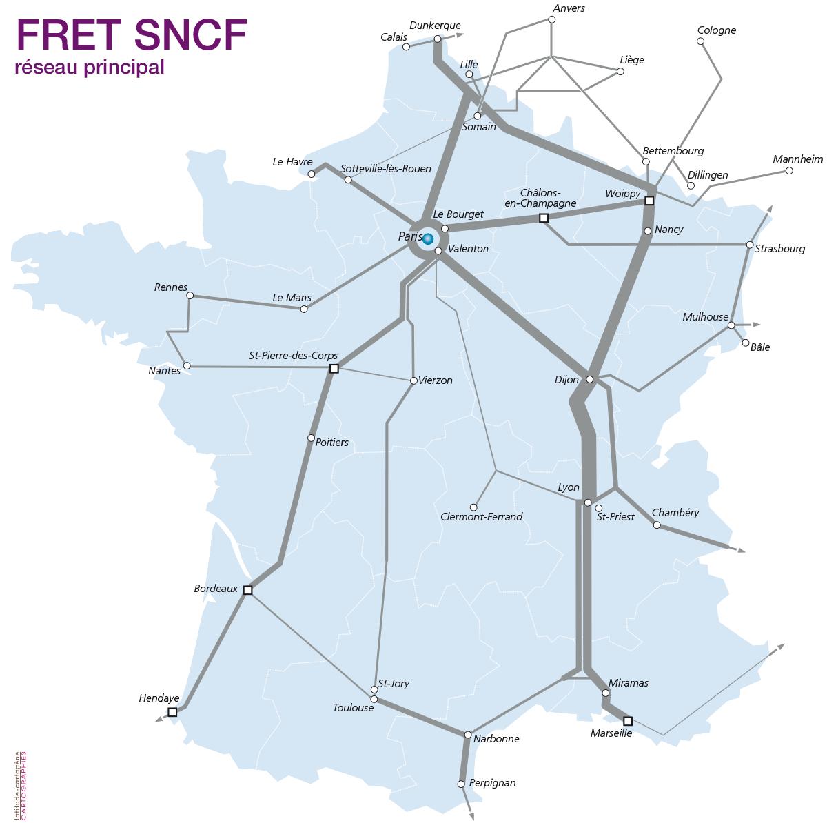 Distribution & hinterland (Fr) - Port-La Nouvelle